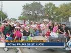 Woman raises money, helps families