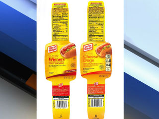 Kraft recalls 96,000 pounds of hot dogs