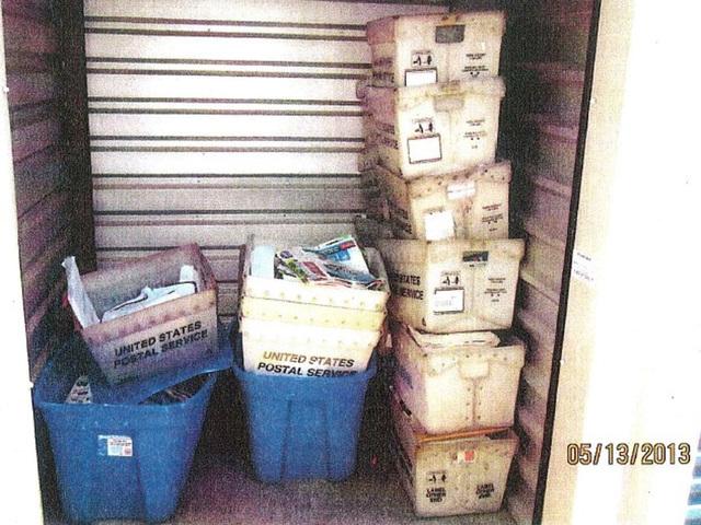Brent morse us postal service worker stashed 44 900 for Brent carrier