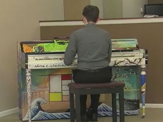 Piano donated to Grandma's Place in RPB