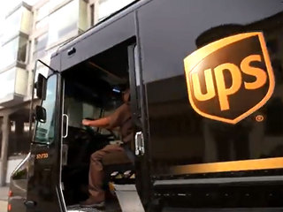 UPS driver caught throwing package to doorstep