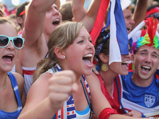 Local soccer fans prep for big USA-Germany match