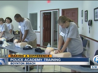 Boynton Beach Police Department Teen Academy