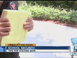 Self defense expert shares school safety tips