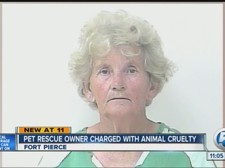 Pet rescue owner charged with animal cruelty