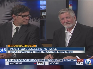 Political analysts' take on Tuesday's wins