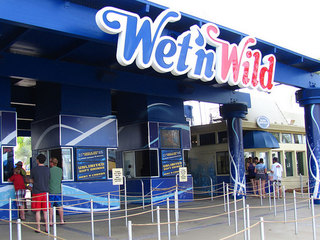Water park worker seriously hurt cleaning pool