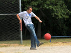 Workers' comp OK for kickball injury, says court