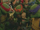Ninja Turtles help 5-year-old boy fight cancer