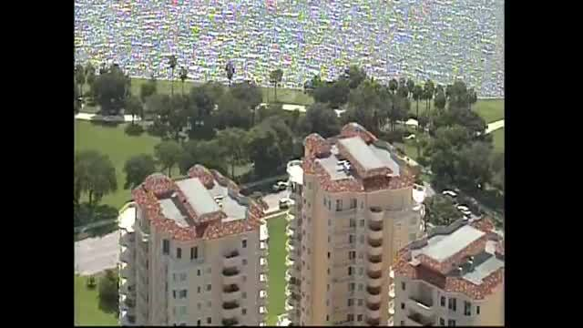 After a small plane crashed in vinoy park in downtown st. petersburg