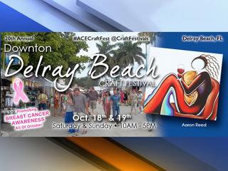 Delray Beach kicks off Crafts Festival Saturday