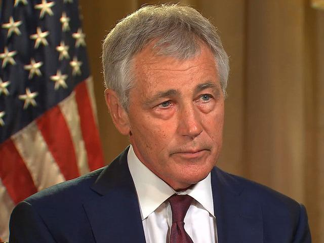 Defense Secretary Chuck Hagel resigning
