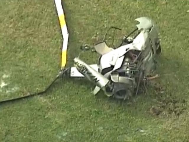 1 killed, 1 hurt in Lantana helicopter crash
