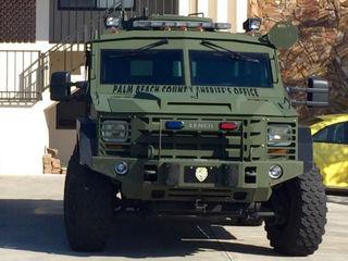 SWAT team responds to domestic dispute