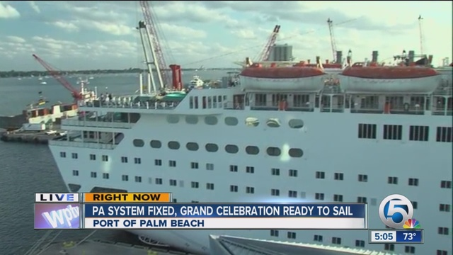 Grand Celebration Sets Sail Tuesday After PA System Is
