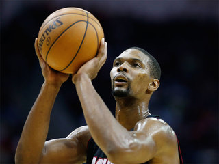Bosh officially out for remainder of Heat season