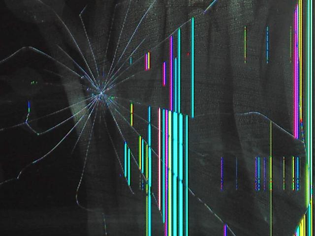 Led Screen: Damaged Led Screen