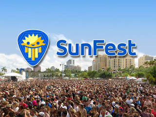 LIVE: SunFest webcam - people watch on Flagler