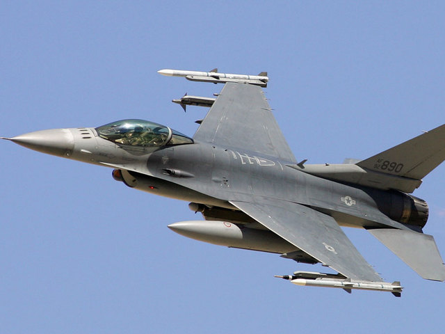 Air Force F-16s scrambled to enforce temporary flight restriction over…