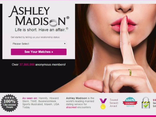 cheating site ashley madison breached hackers threatening expose users