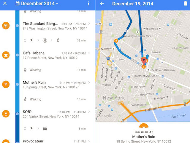 google reveals your location history in maps wptv