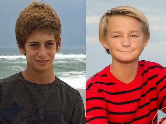 Pilot may have seen missing teens
