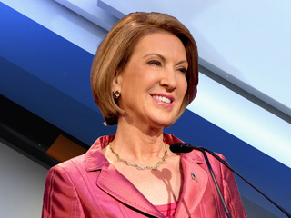 Carly Fiorina suspends her campaign