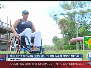 Local woman sets sights on Paralympic medal