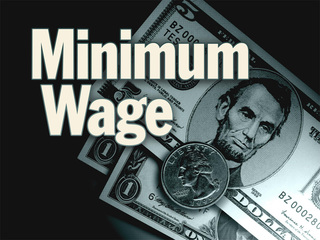 Christie faces decision on raising minimum wage