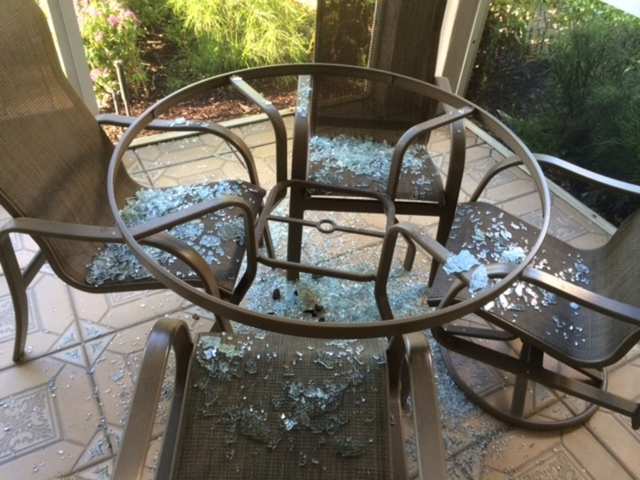 Hidden Hazard Of Glass Furniture
