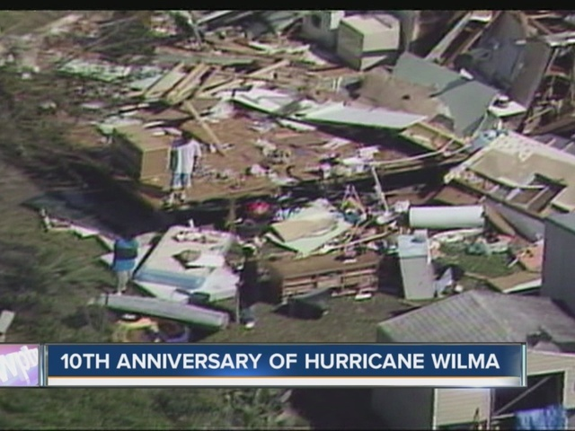 10th anniversary of Hurricane Wilma 10/23/15