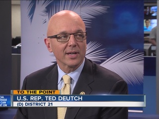 To the Point: U.S. Rep. Ted Deutch talks issues