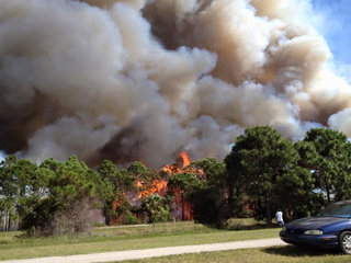 Prescribed burn happening today in Martin County