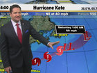 Hurricane Kate forms in the Atlantic