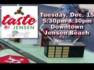 Get a 'Taste of Jensen' Tuesday night