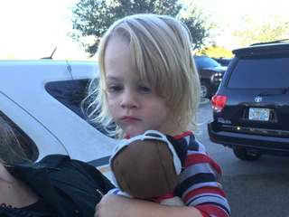 Toddler found along road, parents later located