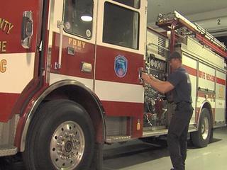On-duty firefighters still enjoying Christmas