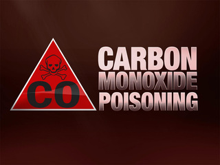 Couple suffers carbon monoxide poisoning