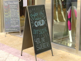 'Chilly' temperatures have locals bundled up