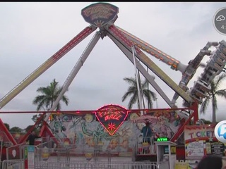 Opening day at the South Florida Fair