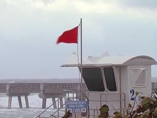 Dangerous beach conditions