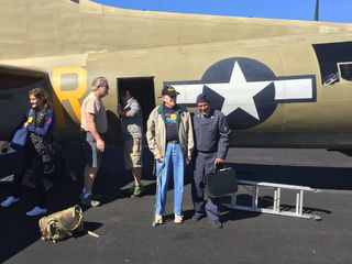 WWII Veteran takes honor flight on plane he flew