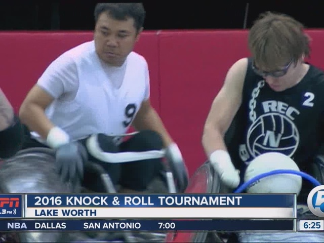 Knock and Roll Wheelchair Rugby Tournament