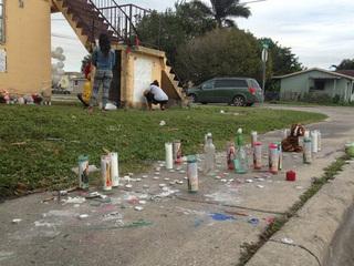 Vigil in Belle Glade for teen killed in shooting