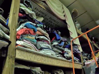 Homeless shelter in need of warm clothes