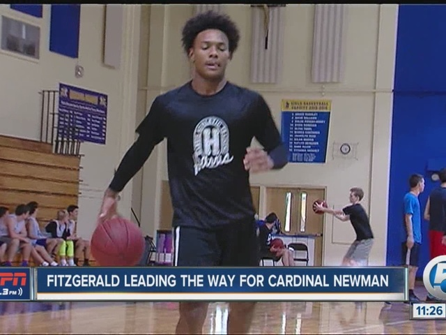 Fitzgerald Leading the Way for Cardinal Newman