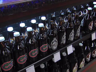 64oz growlers being sold at local liquor store