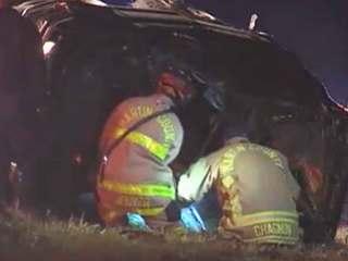 3 injured in I-95 rollover crash near Hobe Sound