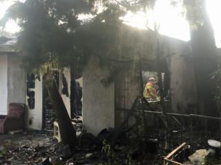 Fire damages building in Okeechobee County