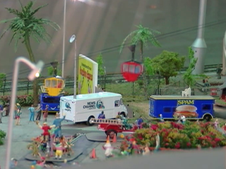 WPTV featured in model railroad exhibit at Fair